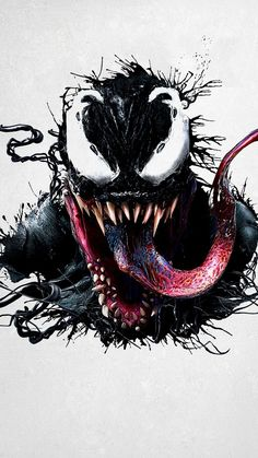 Venom star Tom Hardy shared a new IMAX exclusive poster for the upcoming superhero movie. Marvel Comics, Marvel Venom, Marvel Art, Marvel Heroes, Venom Spiderman, Poster Marvel, Black Spiderman, Spiderman Art, Marvel Tattoos