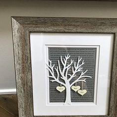 Items similar to Personalized Anniversary or Wedding Gift - Paper Tree & Hearts on Sheet Music - Anniversary Gift- Paper Anniversary- First Dance Song on Etsy Paper Tree, 3d Paper, House Map, Paper Anniversary, Etsy App, Gifts For Wife, Wedding Gifts, Special Occasion, Iphone
