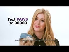 Katherine McNamara and Her Dog Bark Out Against Secondhand Smoke - YouTube