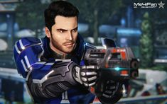 """Look at us."""" Shepard """"Damn it, Kaidan."""" I actually reloaded a save game before this scene . Kaidan Alenko, Mass Effect Art, Character Creation, Video Games, Deviantart, People, Dragon Age, Canadian Bacon, Role Play"""
