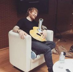 I'm in love with the shape of Ed Sheeran