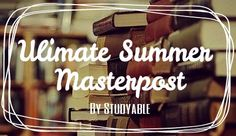studyable:  So Summer has just started guys and I decided to compile a bunch of resources together to help you have a productive summer!  Learn a Language!  Duolingo App: Apple Android    Mango Languages App: Apple Android  Memrise App: Apple Android  Learn a Language  Language Masterpost By Studying Potato  Time Management!  Pomodoro Technique   Pomodoro Online Timer Momentum Chrome Extension  Time Tracker Chrome Extension Block Websites Stay Focused Chrome Extension  Keep Me Out  Website…