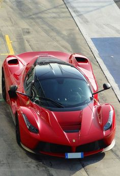 You will ❤ MACHINE Shop Café... ❤ Best of Racing @ MACHINE ❤ (Classic Ferrari Red LaFerrari)