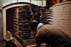 Katsufumi Baba pulling his pottery out from the kiln. See more on our feature page - http://the189.com/feature/japanese-potter-katsufumi-baba