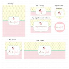 Kits para imprimir - It's a Girl!