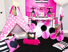 American Girl Doll Birthday - Kate Spade Inspired Party with Shutterfly