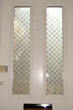 Victorian Door With Etched Glass Fitted In Stoke Newington 3 2