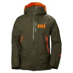 Helly Hansen Sogn Shell Jacket, Ivy Green, Small 65568-491-S