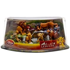 The Lion King is one of the most popular Disney items used in my playroom. Usually, Simba and Scar are used the most, along with a recent acquisition of a Pride Rock that is awesome. Disney Toys, Disney Pixar, Young Simba, Lion, Pride Rock, Disney Figurines, Christmas Toys, The Ordinary, Dog Bowls