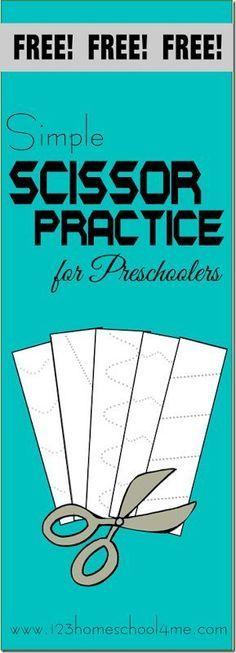 Free beginning handwriting worksheets for preschool | Handwriting ...