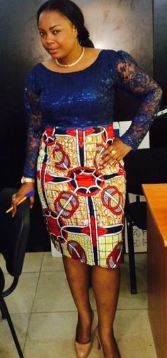 FROM DRC African Fashion Skirts, African Men Fashion, Africa Fashion, African Wear, African Women, African Dress, Womens Fashion, Ankara Skirt, Style Inspiration