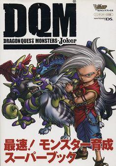 Dragon Quest Monsters Joker Saisoku Monster Ikusei Strategy Guide F/S JP -1968