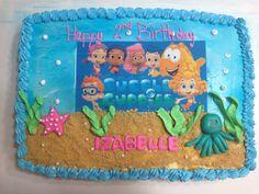 Bubble Guppies Sheet Cake