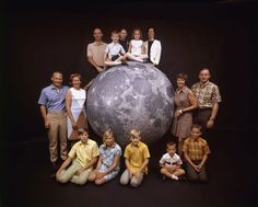 Apollo 11 astronauts and their families, 1969   LIFE: Up Close With Apollo 11   LIFE.com