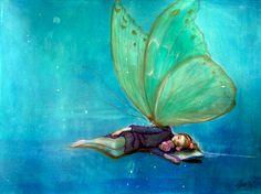 Gro Mukta Holter - Vokteren Graphic Prints, Art Drawings, Fine Art, Wall Art, Artwork, Artist, Painting, Inspiration, Butterflies