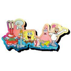 SpongeBob SquarePants Group Funky Chunky Magnet Aquarius SpongeBob SquarePants Magnets