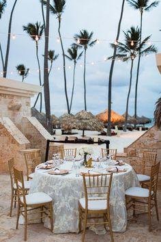 A Glamorous Beach Wedding In Punta Cana - Bajan Wed : Bajan Wed