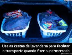 cestas lavanderia supermercado