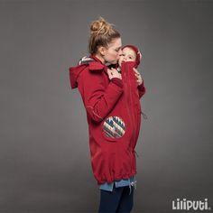 Liliputi® 4in1 Babywearing Mama Coat - Nawaho Maternity Coat, Simple Dresses, Zipper, Pocket, Fabric, Baby Wearing, Adidas Jacket, Rain Jacket, Windbreaker