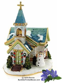 Trinket Box: Winter Church