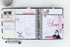 life planner, journal, project life