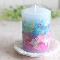 Cute Candles, Gel Candles, Beautiful Candles, Scented Candles, Pillar Candles, Diy Candle Wick, Candle Art, Soy Candle Making, Candle Making Supplies