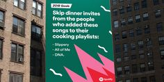 How Spotify Makes Its Data-Driven Outdoor Ads, and Why They Work So Well – Adweek Spotify Billboards, Funny Billboards, Copy Ads, Tumblr Travel, Creative Advertising, Advertising Ideas, Advertising Design, World Problems, Social Media Branding