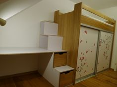 1000+ ideas about Hochbett Mit Schrank on Pinterest ...
