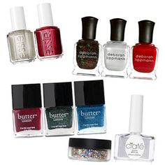Festive Nail Polishes-LOVELOVELOVE nail polishes! Plus, they're super easy to give as gifts! #17holiday
