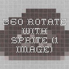 360 rotate with sprite (1 image)