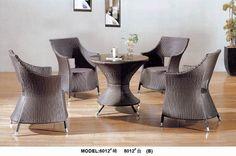 restaurant cafe PE rattan rattan table set www.facebook.com/pages/Foshan-Fantastic-Furniture-CoLtd                                                         www.ftc-furniture.com