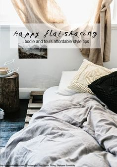 Flatsharing: my fav' affordable styling tips to create a happy place (via Bloglovin.com )