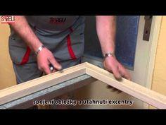 Montáž zárubní OKZ SAPELI (obklad kovové zárubně) - YouTube