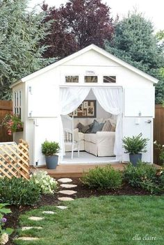 She shed, woman cave with class!