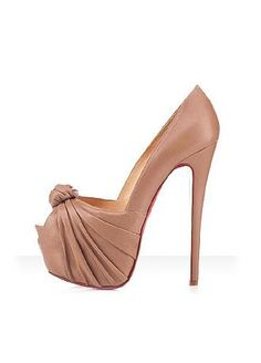 Gorgeous Stiletto Heel Peep Toe Pumps Ruched Party / Evening Shoes With Flower