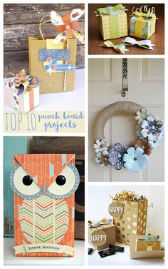 top ten punch board projects Plus Paper Cards, Paper Gifts, Paper Boxes, Cards Diy, Diy Bag Gift, Envelope Punch Board Projects, Envelope Maker, Origami Mobile, Origami Bag
