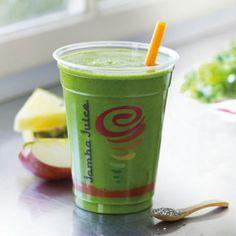 Healthy Smoothies at Jamba Juice: Kale Apple Pineapple Chia Seeds - Healthy Smoothies at Jamba Juice - Shape Magazine