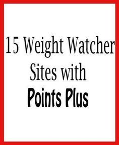 15 Weight Watcher Sites with Points Plus – Recipe Diaries Weight Watchers Tipps, Weight Watchers Menu, Weight Watchers Points Plus, Weight Watchers Chicken, Weigh Watchers, Weight Watcher Desserts, Weight Watcher Dinners, Healthy Recipes, Ww Recipes