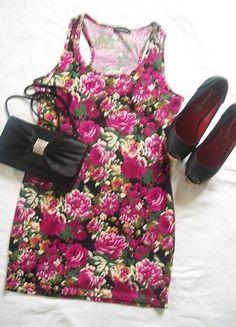 Kup mój przedmiot na #Vinted http://www.vinted.pl/damska-odziez/krotkie-sukienki/8178655-sukienka-w-kwiaty