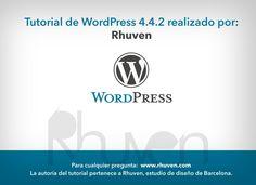 Tutorial WordPress 4.4.2