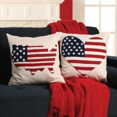 Craftways® USA Pillow Cover Kits Punch Needle Kit Was: $69.98    Now: $59.98