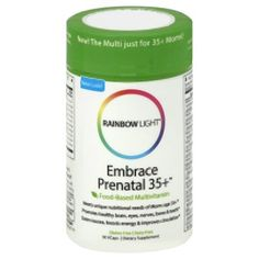 embrace prenatal 35. rainbow light prenatal 35 plus multivitamin 30 count ** learn more by visiting the image embrace