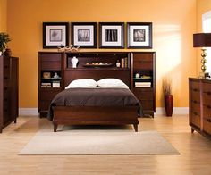 Saratoga 4 Pc King Platform Bedroom Set W Storage Bed