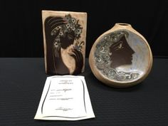 GORGEOUS PAIR OF LIMITED EDITION HANDPAINTED STONEWARE PIECES DESIGNED BY MEXICAN-BORN CERAMIST, MARA. THEY BOTH FEATURE WHIMSICAL AND CONTEMPORARY-STYLE DESIGNS. THE TALLER PIECE (10 IN.) IS NUMBERED 278/500 AND COMES WITH COA. THE OTHER PIECE IS NUMBERED 257/500. MARA BEGAN HER WORK UNDER THE TEACHINGS OF ARTIST ALFREDO ZALCE AND HAS EXHIBITED IN VARIOUS COUNTRIES AROUND THE WORLD. HER PIECES HAVE BEEN ACQUIRED BY NUMEROUS COLLECTORS