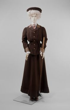 169093e4cda7 Golf jacket and skirt Frederick Bosworth London ca. 1908 Vintage Sportswear