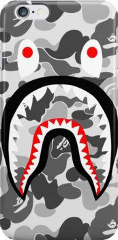 9e6e878d camo rainbow Snap Case for iPhone 6 & iPhone 6s. Bape Shark WallpaperBape  ...