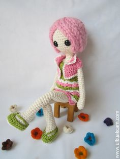 Crochet Amigurumi Doll Body : 1000+ images about Amigurumi - doll body pattern on ...