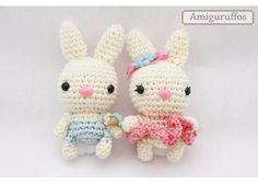 Amiguruffos: Parejita de conejos @ Kichink.com