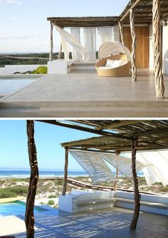 WEEKEND ESCAPE: A STUNNIG BEACH HOUSE IN SOUTH AFRICA | style-files.com | Bloglovin'