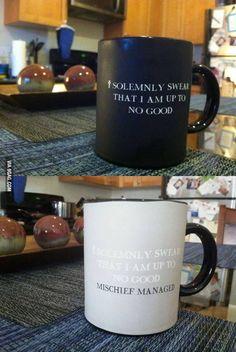 Harry Potter. Mischief Managed.